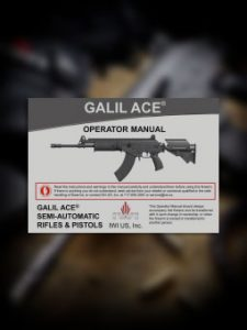 Galil Ace Manual