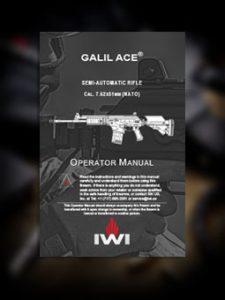 Galil ACE Semi Auto Manual