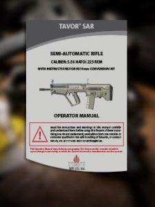 Tavor SAR Manual