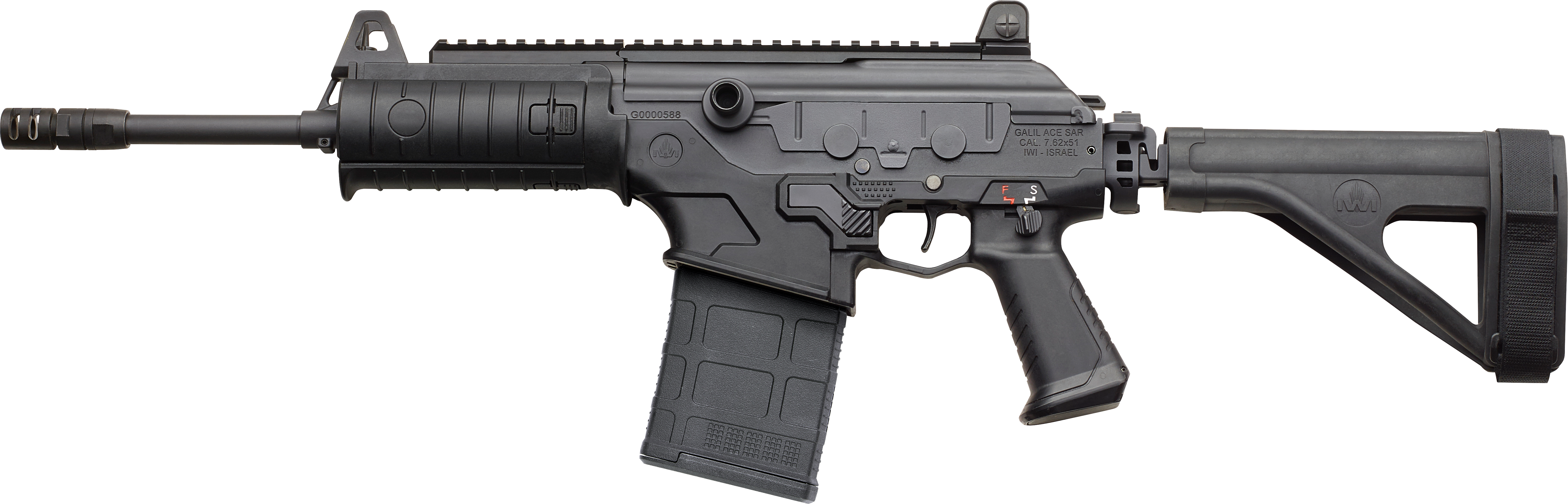 Galil ACE Pistol – 7 62 NATO (7 62x51mm) with Stabilizing