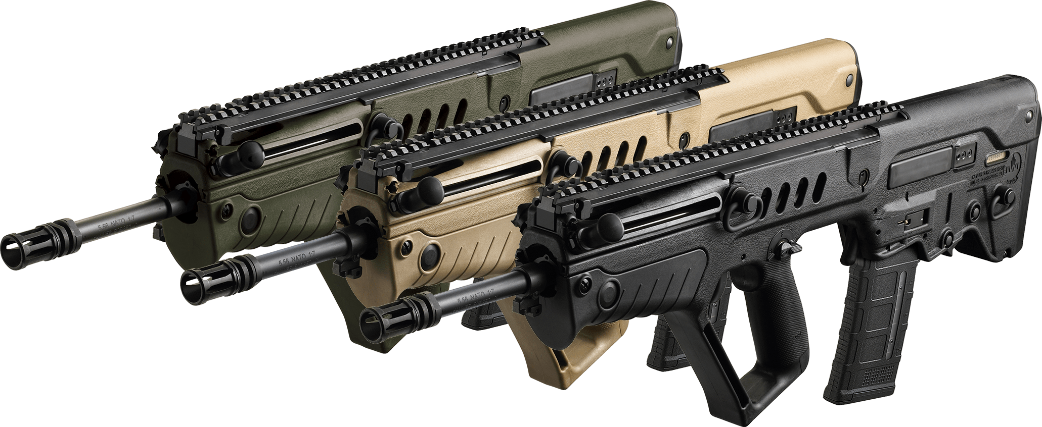 TAVOR bullpup rifle