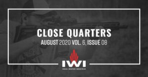Close Quarters email August 2020 Vol. 6, Issue 8